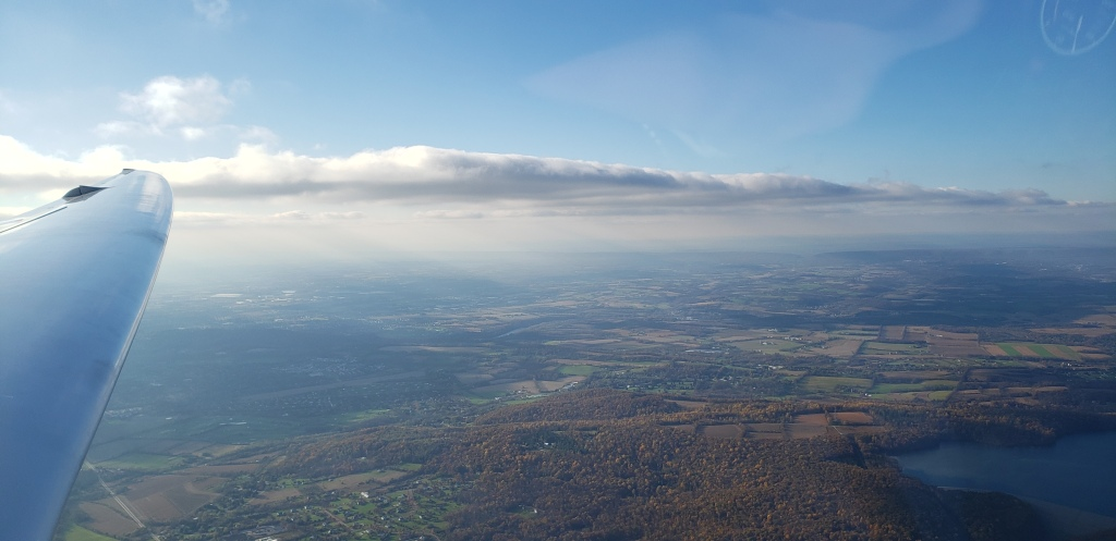 Now I have final glide made. Isn't the Lehigh Valley gorgeous in the late afternoon?
